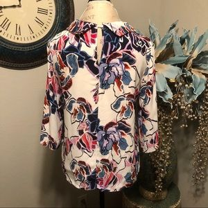 Halogen Tops - Halogen 3/4 sleeve blouse Size Large